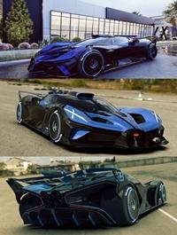 Bugatti Bolide for Lumion 10-11