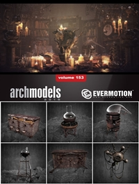 EVERMOTION Archmodels vol. 153