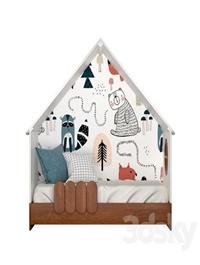 "Bed house ""LittleHome"""