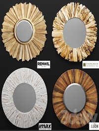 A set of mirrors