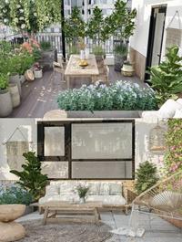 Exterior Garden Scene Sketchup 02