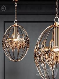 Uttermost Ambre 8 Light Gold
