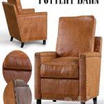 Tyler Leather Armchair Pottery Barn