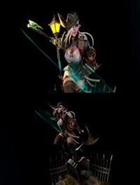 The Hunter Girl 3D Model