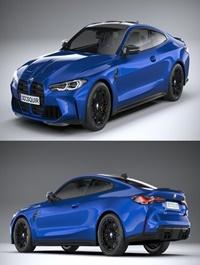 BMW M4 G82 2021 3D model