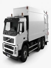 Volvo FM Truck 6×2 Garbage 2010 3D Model