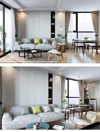 Livingroom, Scene, By ,Hang, Do