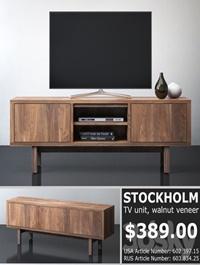 IKEA STOCKHOLM TV unit