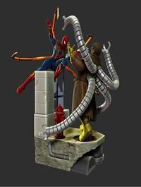 Spider man vs Dr. Octopus – 3D Print Model