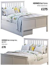 Ikea Hemnes bed 3