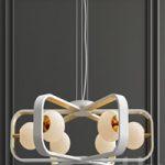 Chandelier Suspension Light Avola Gold Maytoni Modern