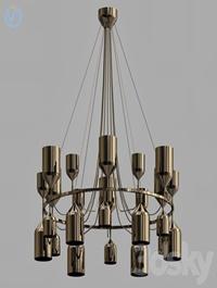 Metalarte Copacabana Queen 3 Pendant Lamp
