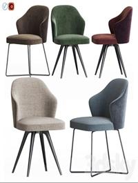 Leslie Dining Chair Set Minotti