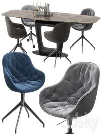 Calligaris, Orbital ,table, set