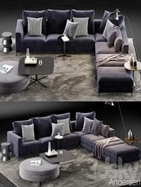 Minotti Andersen Sofa 5