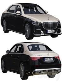 Mercedes-benz S-class Maybach 2021