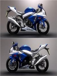 Suzuki GSX-R1000 3D Model