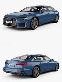 Audi S6 Sedan C8 2019 3D Model