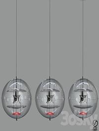 VP Globe Tinted Glass Pendant