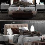 Minotti Andersen Bed Quilt